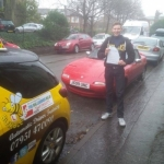 Will De Spretter passed with Dave Pickford Automatic Driver Training
