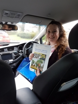 A big well done to Laura who passed her test today first time Congratulations and enjoy your new freedom