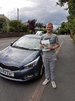 A big well done to Dan who passed his test today Enjoy driving in your own car and your new freedom Thanks for choosing Drive to Arrive