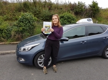A massive congratulations to Iona who passed her test today first time Enjoy your new freedom just in time for your new job Well done safe driving and thanks for choosing Drive to Arrive