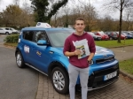 Jake passed with Drive to Arrive