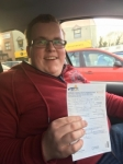 Aaron Burnside passed with DSL Driving School