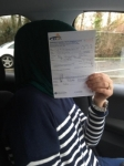 Nicoleta Balan passed with DSL Driving School