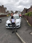 Adam Mathers passed with DSL Driving School