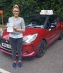 Andrea Cardy passed with DSL Driving School