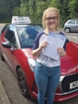Anna Jones passed with DSL Driving School
