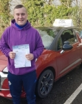 Ben Lewis passed with DSL Driving School