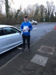 Caolan Allen passed with DSL Driving School