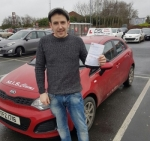 Chris Orr passed with DSL Driving School