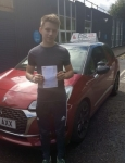 Conor Mills passed with DSL Driving School