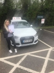 Courtney Mitchell passed with DSL Driving School