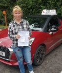 Diana Masika passed with DSL Driving School