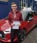 Dylan Spence passed with DSL Driving School