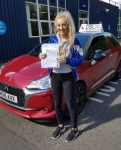 Emily Simpson passed with DSL Driving School