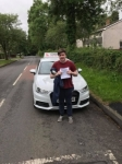 Ethyn Davidson passed with DSL Driving School