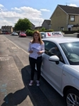 Francesca Tennyson passed with DSL Driving School