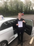 Frasier Hickland passed with DSL Driving School
