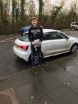 James Hall passed with DSL Driving School