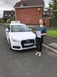 Jessica Treacy passed with DSL Driving School