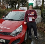 Jonny Grattan passed with DSL Driving School