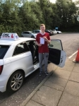 Josh Whiteside passed with DSL Driving School