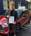 Luke Leo passed with DSL Driving School