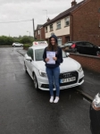 Lucy Reid passed with DSL Driving School