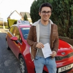 Martin Millar passed with DSL Driving School