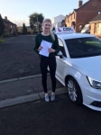 Megan Murray passed with DSL Driving School