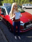 Megan Walker passed with DSL Driving School