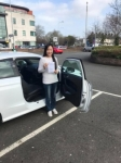 Natalie Mak passed with DSL Driving School
