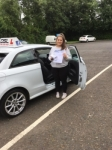 Rebecca Megrath passed with DSL Driving School