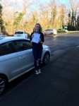 Rebekah Batsy Clements passed with DSL Driving School