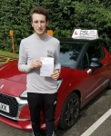 Reece Gleeson passed with DSL Driving School