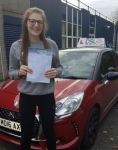 Shannon Scott passed with DSL Driving School