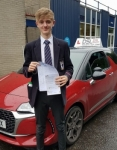 Thomas Burns passed with DSL Driving School