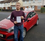 Tomas Ramanauskas passed with DSL Driving School