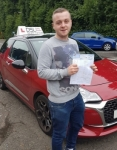 Tyler Boardman passed with DSL Driving School