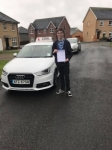 Tyler Wilson passed with DSL Driving School