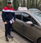 Mohamed Ibrahim passed with DSL Driving School
