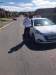 Max Banford passed with DSL Driving School