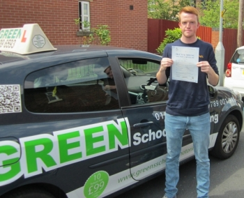 Well done Simon. Passed first time with just 1 minor.