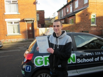 Well done Josh Now you can collect on the bet you had with your dad<br />