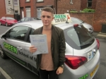 ALEX SMILLIE passed with Green School Of Motoring.