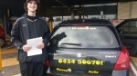 Aarron Logan passed with Fab Driving School