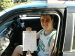 Adam (Brookwater) passed with Fab Driving School