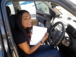 Aisha (Marsden) passed with Fab Driving School