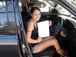 Annie (Shailer Park) passed with Fab Driving School