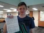 Ben (Parkinson) passed with Fab Driving School