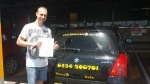 Brandon (Regents Park) passed with Fab Driving School